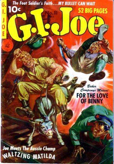 G.I. Joe #11 Comic Books - Covers, Scans, Photos  in G.I. Joe Comic Books - Covers, Scans, Gallery