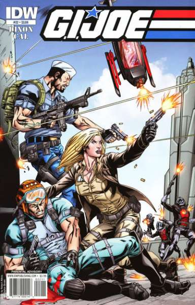 G.I. Joe #22 Comic Books - Covers, Scans, Photos  in G.I. Joe Comic Books - Covers, Scans, Gallery