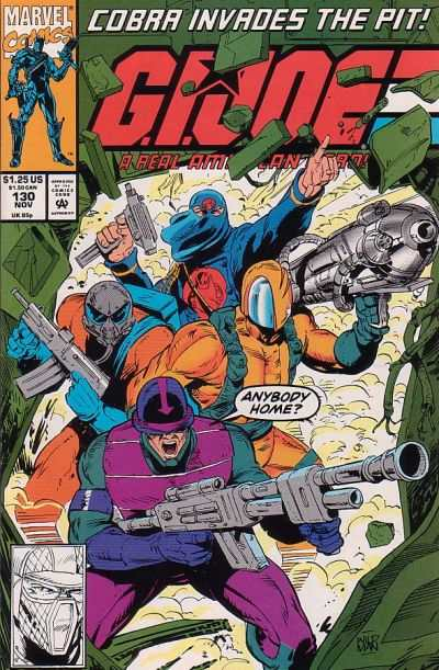 G.I. Joe: A Real American Hero #130 Comic Books - Covers, Scans, Photos  in G.I. Joe: A Real American Hero Comic Books - Covers, Scans, Gallery