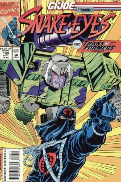 G.I. Joe: A Real American Hero #140 comic books - cover scans photos G.I. Joe: A Real American Hero #140 comic books - covers, picture gallery