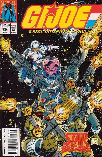 G.I. Joe: A Real American Hero #146 Comic Books - Covers, Scans, Photos  in G.I. Joe: A Real American Hero Comic Books - Covers, Scans, Gallery