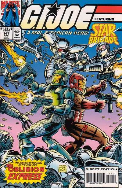 G.I. Joe: A Real American Hero #147 comic books - cover scans photos G.I. Joe: A Real American Hero #147 comic books - covers, picture gallery