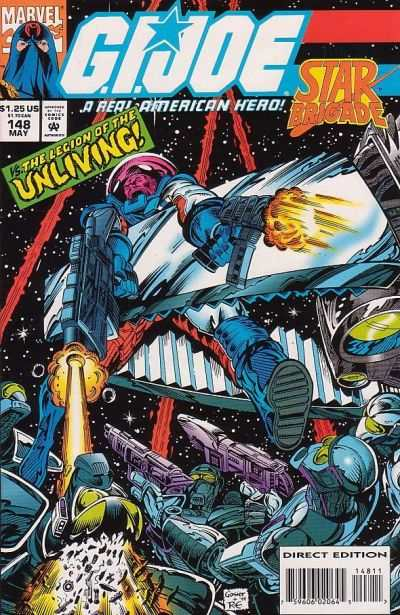 G.I. Joe: A Real American Hero #148 comic books for sale