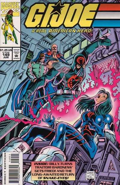G.I. Joe: A Real American Hero #149 Comic Books - Covers, Scans, Photos  in G.I. Joe: A Real American Hero Comic Books - Covers, Scans, Gallery