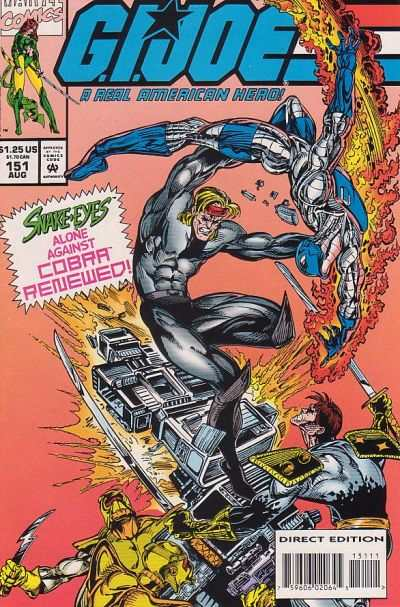 G.I. Joe: A Real American Hero #151 Comic Books - Covers, Scans, Photos  in G.I. Joe: A Real American Hero Comic Books - Covers, Scans, Gallery