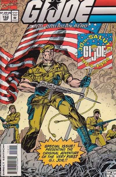 G.I. Joe: A Real American Hero #152 Comic Books - Covers, Scans, Photos  in G.I. Joe: A Real American Hero Comic Books - Covers, Scans, Gallery