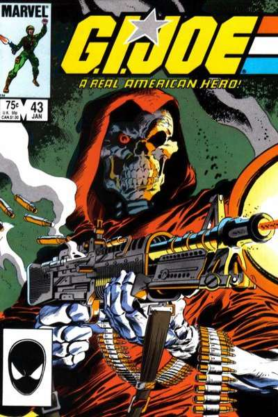 G.I. Joe: A Real American Hero #43 comic books for sale