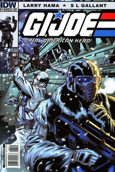 G.I. Joe: A Real American Hero #168 Comic Books - Covers, Scans, Photos  in G.I. Joe: A Real American Hero Comic Books - Covers, Scans, Gallery