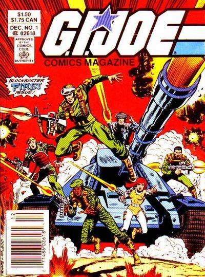 G.I. Joe Comics Magazine #1 comic books - cover scans photos G.I. Joe Comics Magazine #1 comic books - covers, picture gallery
