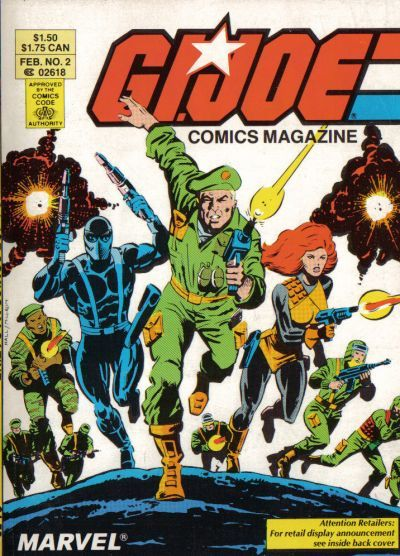 G.I. Joe Comics Magazine #2 Comic Books - Covers, Scans, Photos  in G.I. Joe Comics Magazine Comic Books - Covers, Scans, Gallery