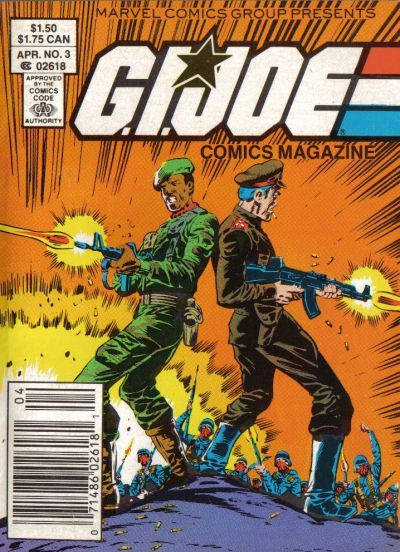 G.I. Joe Comics Magazine #3 Comic Books - Covers, Scans, Photos  in G.I. Joe Comics Magazine Comic Books - Covers, Scans, Gallery