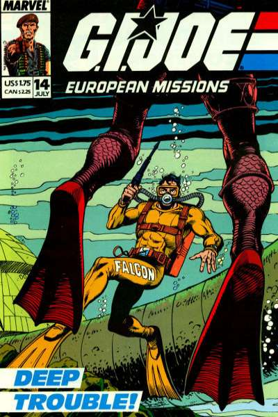 G.I. Joe European Missions #14 comic books for sale