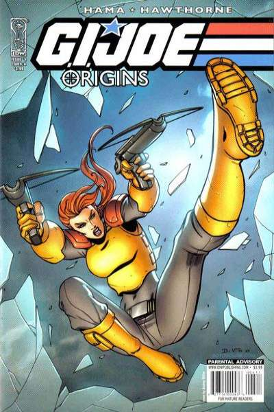 G.I. Joe: Origins #4 Comic Books - Covers, Scans, Photos  in G.I. Joe: Origins Comic Books - Covers, Scans, Gallery