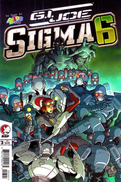 G.I. Joe: Sigma 6 #3 Comic Books - Covers, Scans, Photos  in G.I. Joe: Sigma 6 Comic Books - Covers, Scans, Gallery