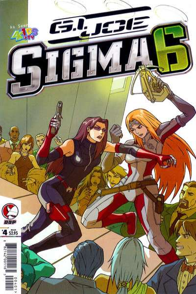 G.I. Joe: Sigma 6 #4 Comic Books - Covers, Scans, Photos  in G.I. Joe: Sigma 6 Comic Books - Covers, Scans, Gallery