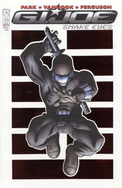G.I. Joe: Snake Eyes comic books