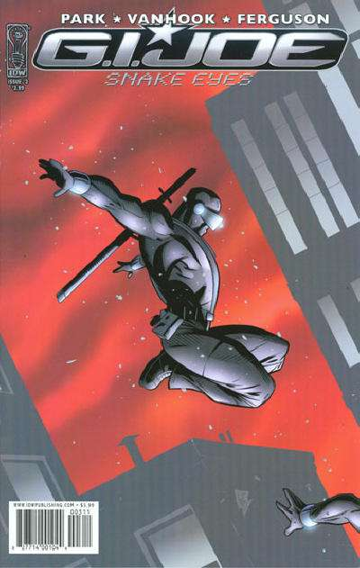 G.I. Joe: Snake Eyes #3 comic books for sale