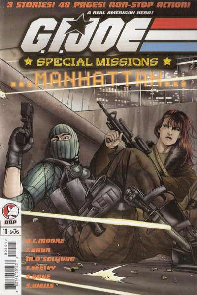 G.I. Joe: Special Missions Manhattan comic books
