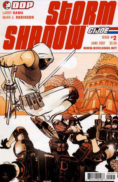 G.I. Joe: Storm Shadow #2 comic books - cover scans photos G.I. Joe: Storm Shadow #2 comic books - covers, picture gallery