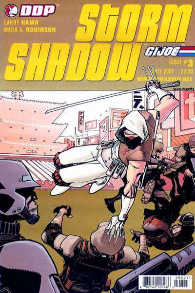 G.I. Joe: Storm Shadow #3 Comic Books - Covers, Scans, Photos  in G.I. Joe: Storm Shadow Comic Books - Covers, Scans, Gallery