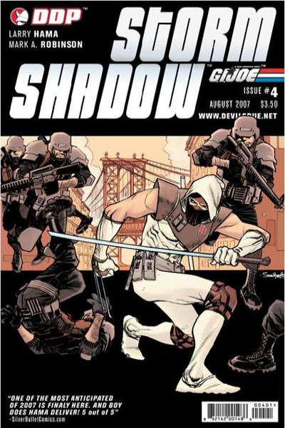 G.I. Joe: Storm Shadow #4 Comic Books - Covers, Scans, Photos  in G.I. Joe: Storm Shadow Comic Books - Covers, Scans, Gallery