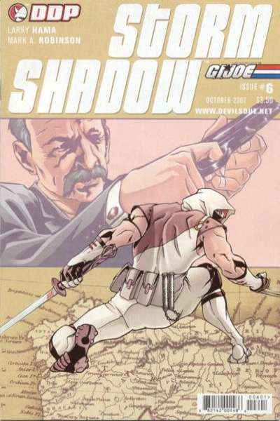 G.I. Joe: Storm Shadow #6 Comic Books - Covers, Scans, Photos  in G.I. Joe: Storm Shadow Comic Books - Covers, Scans, Gallery