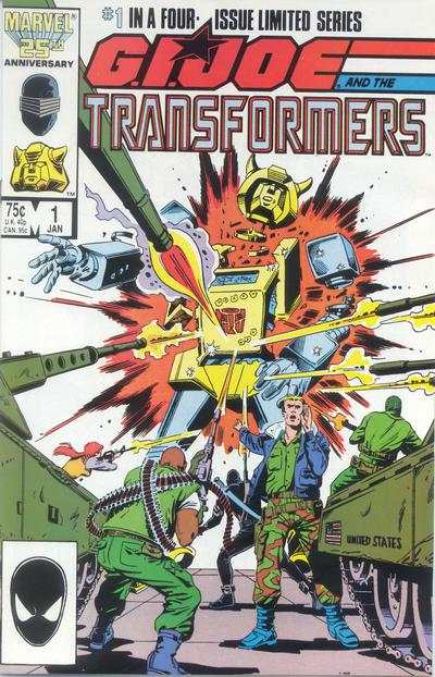 G.I. Joe and the Transformers comic books