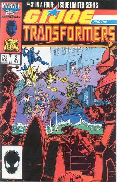 G.I. Joe and the Transformers #2 comic books for sale