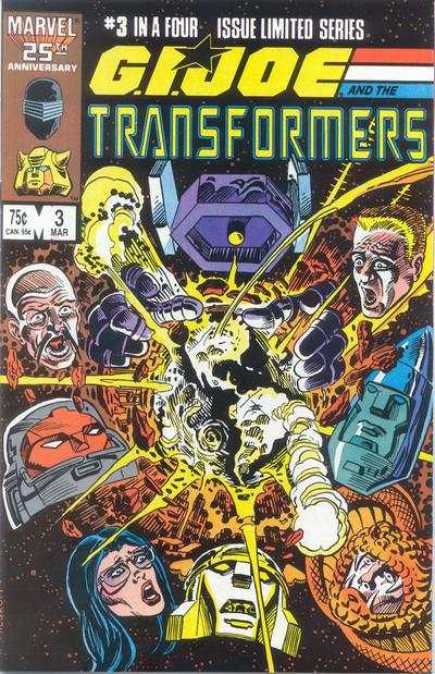 G.I. Joe and the Transformers #3 comic books - cover scans photos G.I. Joe and the Transformers #3 comic books - covers, picture gallery