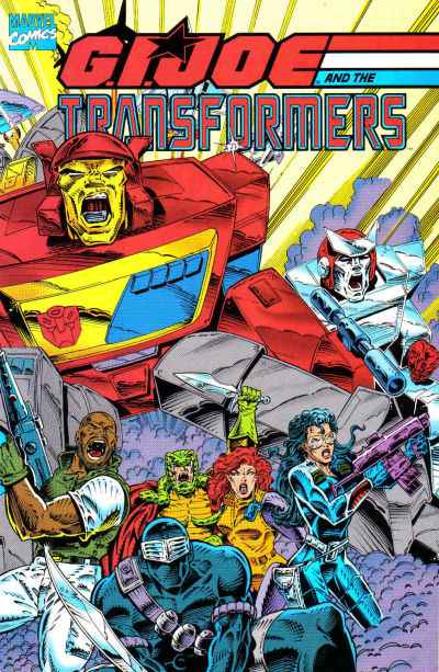 G.I. Joe and the Transformers #1 comic books - cover scans photos G.I. Joe and the Transformers #1 comic books - covers, picture gallery