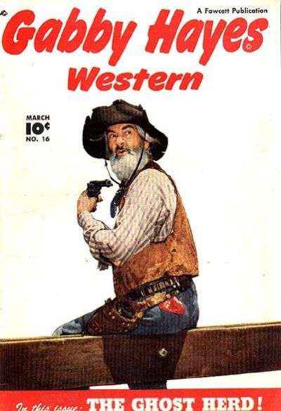 Gabby Hayes Western #16 Comic Books - Covers, Scans, Photos  in Gabby Hayes Western Comic Books - Covers, Scans, Gallery