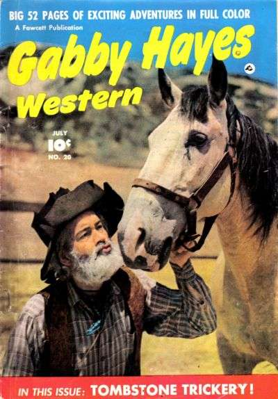 Gabby Hayes Western #20 Comic Books - Covers, Scans, Photos  in Gabby Hayes Western Comic Books - Covers, Scans, Gallery