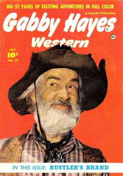 Gabby Hayes Western #22 Comic Books - Covers, Scans, Photos  in Gabby Hayes Western Comic Books - Covers, Scans, Gallery