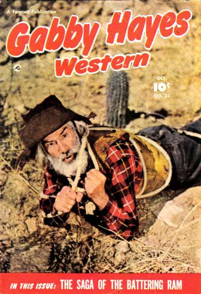Gabby Hayes Western #23 Comic Books - Covers, Scans, Photos  in Gabby Hayes Western Comic Books - Covers, Scans, Gallery