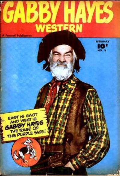 Gabby Hayes Western #3 comic books - cover scans photos Gabby Hayes Western #3 comic books - covers, picture gallery