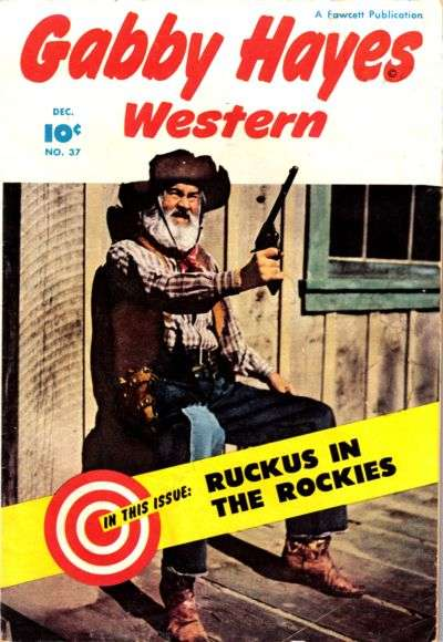 Gabby Hayes Western #37 comic books for sale