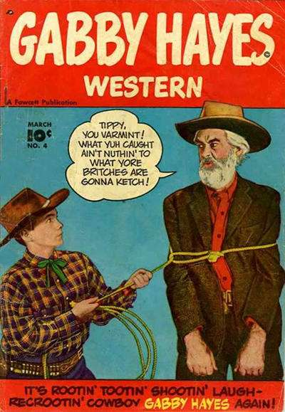 Gabby Hayes Western #4 comic books for sale