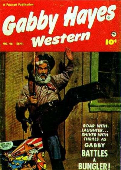 Gabby Hayes Western #46 comic books for sale