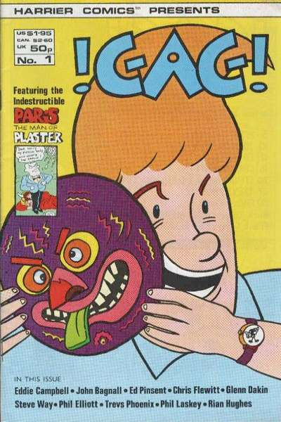 Gag comic books