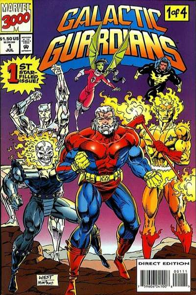 Galactic Guardians # comic book complete sets Galactic Guardians # comic books