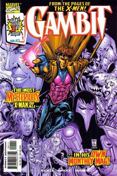 Gambit #1 Comic Books - Covers, Scans, Photos  in Gambit Comic Books - Covers, Scans, Gallery