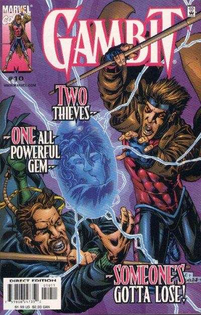 Gambit #10 comic books - cover scans photos Gambit #10 comic books - covers, picture gallery