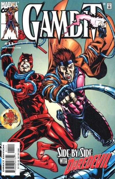 Gambit #11 comic books - cover scans photos Gambit #11 comic books - covers, picture gallery