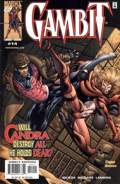 Gambit #14 comic books for sale