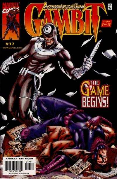 Gambit #17 Comic Books - Covers, Scans, Photos  in Gambit Comic Books - Covers, Scans, Gallery