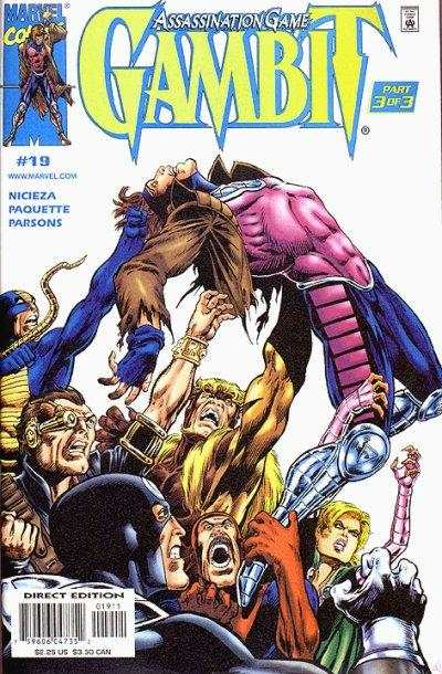 Gambit #19 Comic Books - Covers, Scans, Photos  in Gambit Comic Books - Covers, Scans, Gallery