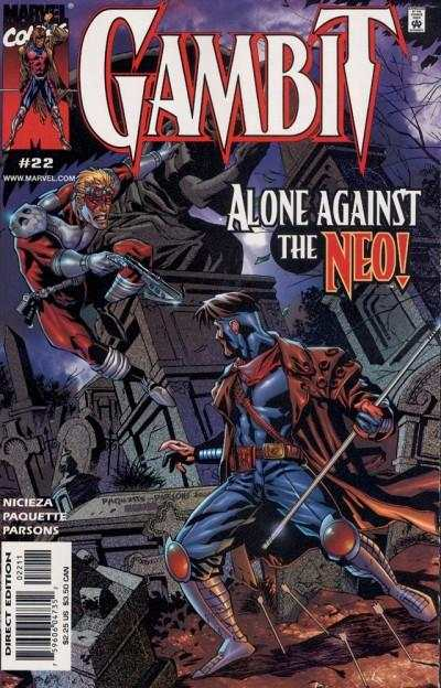 Gambit #22 Comic Books - Covers, Scans, Photos  in Gambit Comic Books - Covers, Scans, Gallery