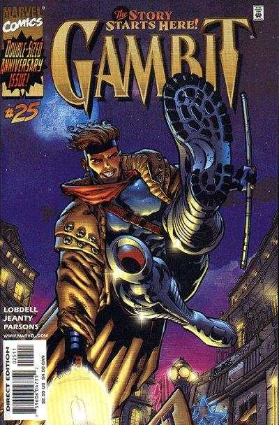 Gambit #25 Comic Books - Covers, Scans, Photos  in Gambit Comic Books - Covers, Scans, Gallery