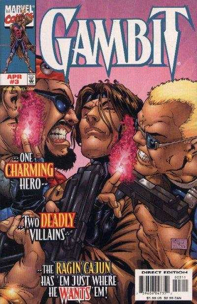 Gambit #3 comic books - cover scans photos Gambit #3 comic books - covers, picture gallery