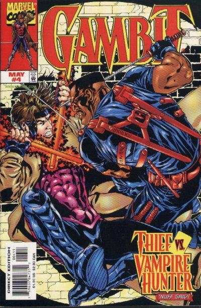 Gambit #4 Comic Books - Covers, Scans, Photos  in Gambit Comic Books - Covers, Scans, Gallery